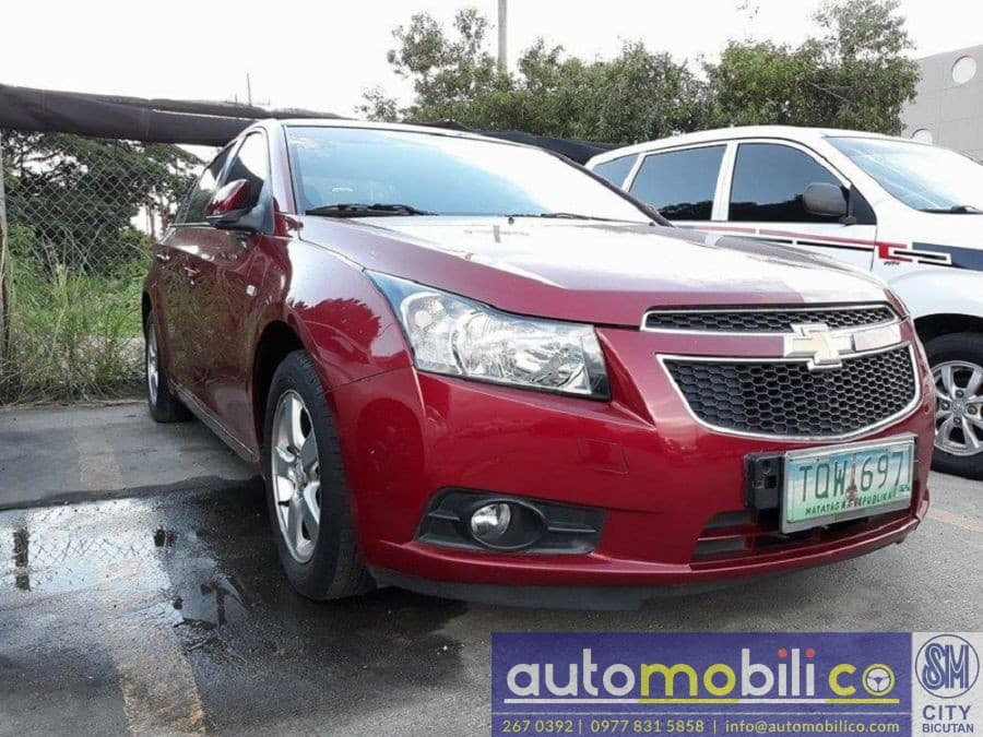 2012 Chevrolet Cruze - Right View