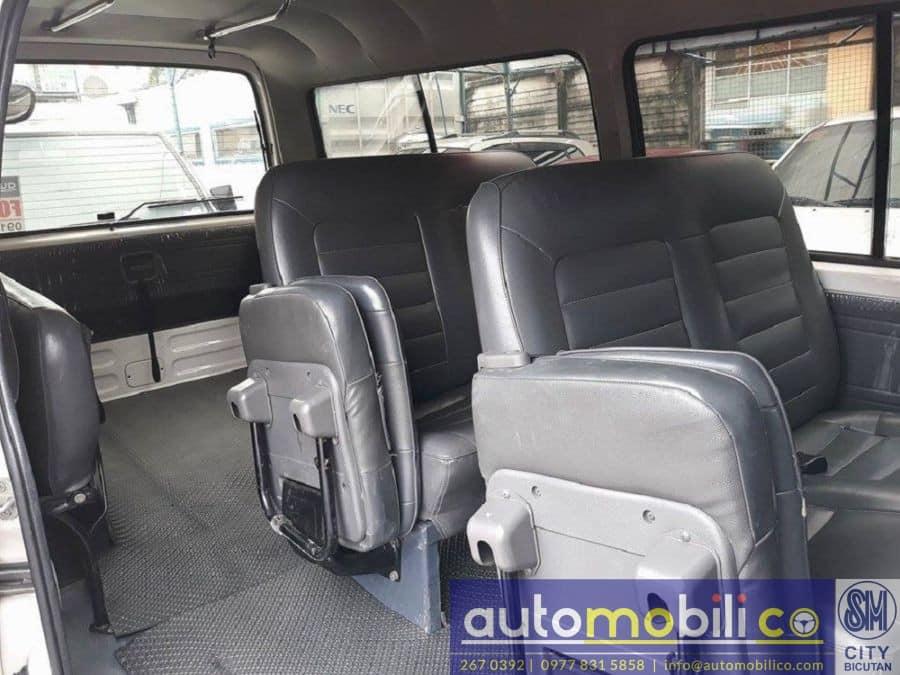 2010 Nissan Urvan - Interior Rear View