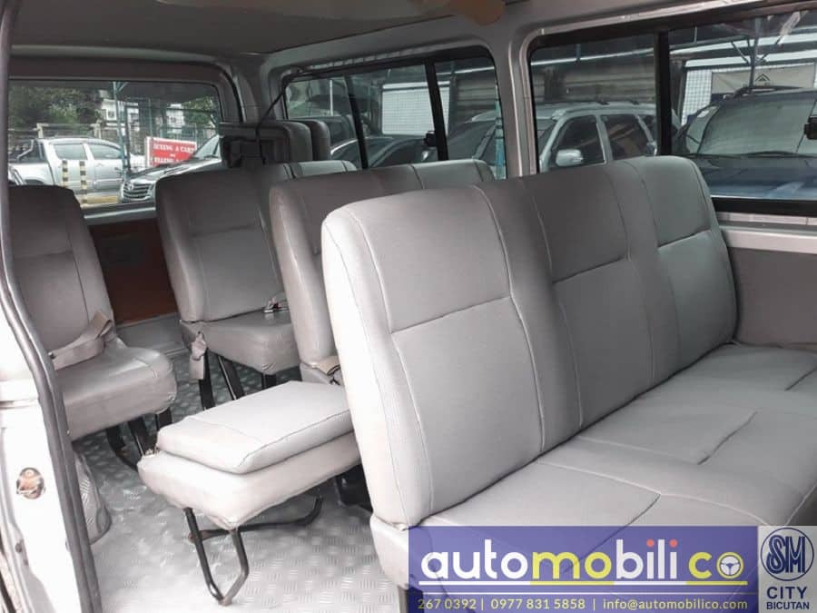 2009 Toyota Commuter - Interior Rear View