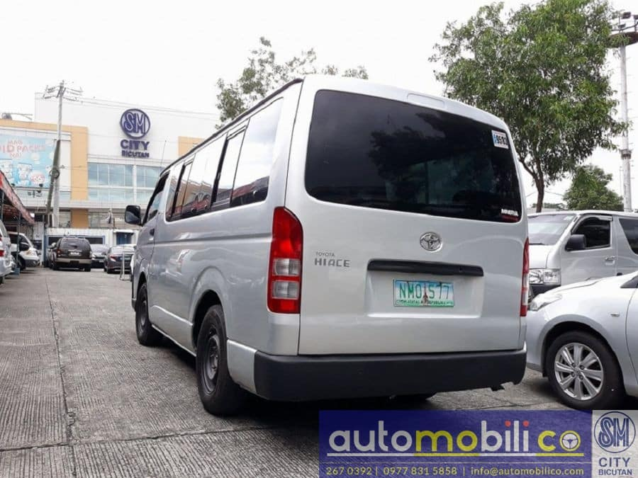 2009 Toyota Commuter - Left View