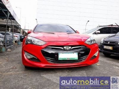 2013 Hyundai Genesis Coupe - Front View