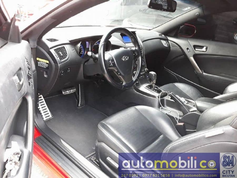 2013 Hyundai Genesis Coupe - Interior Front View