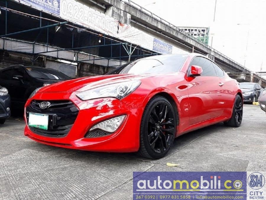 2013 Hyundai Genesis Coupe - Left View