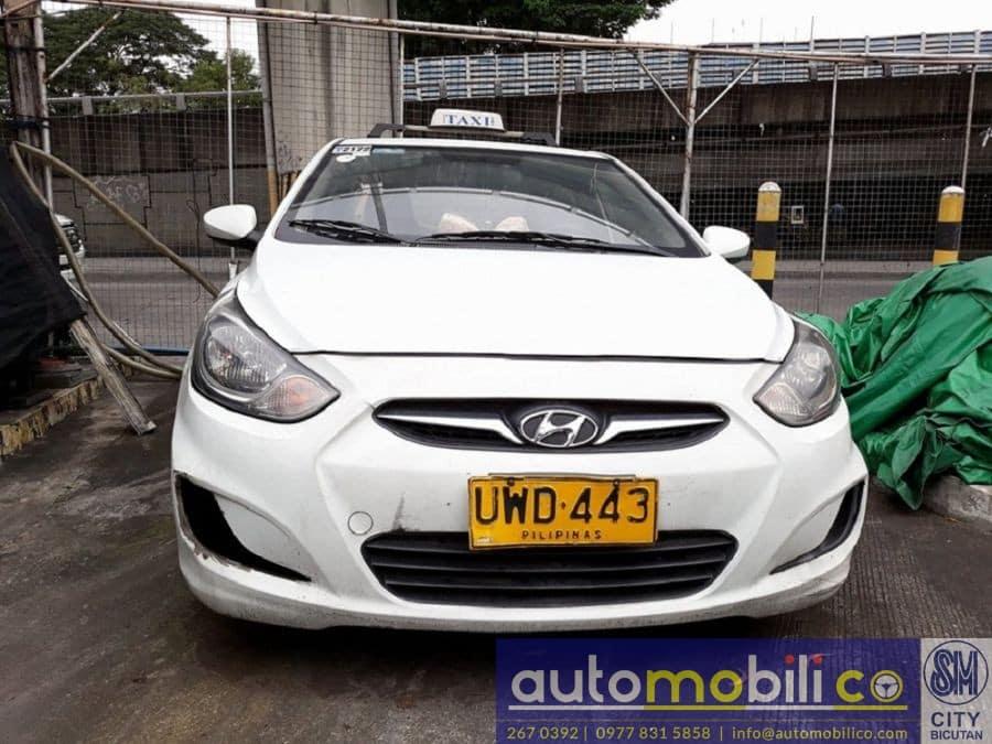 2012 Hyundai Accent - Rear View