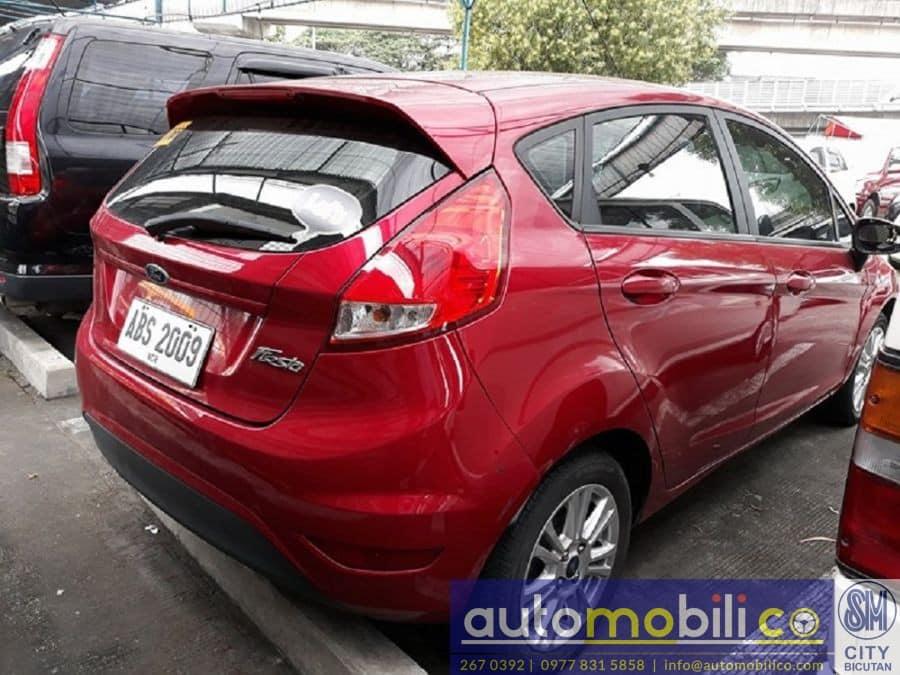 2015 Ford Fiesta - Rear View