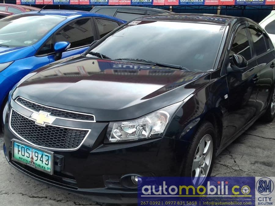 2012 Chevrolet Cruze - Left View