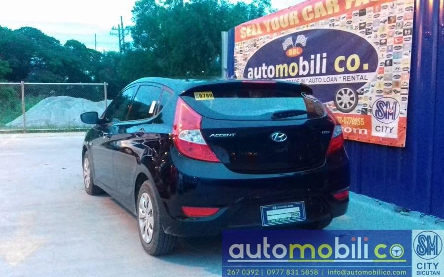 2015 Hyundai Accent - Rear View