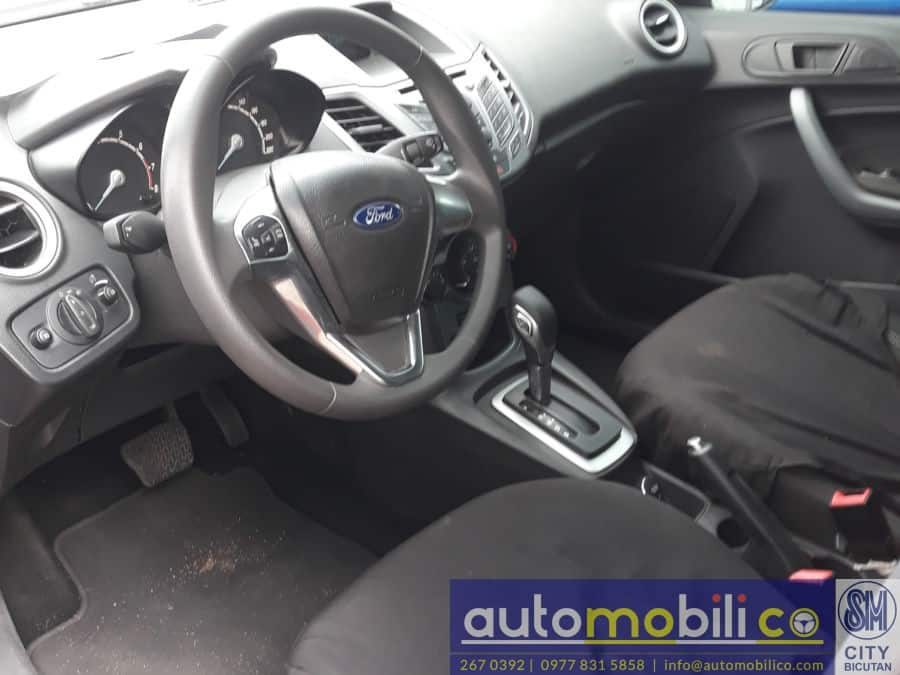 2016 Ford Fiesta - Interior Rear View