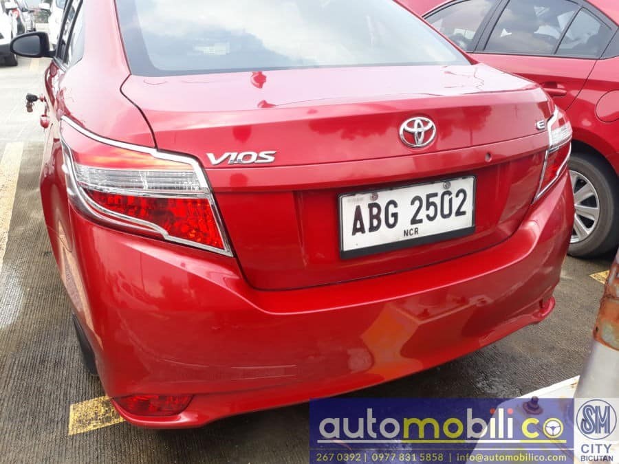 2015 Toyota Vios - Rear View