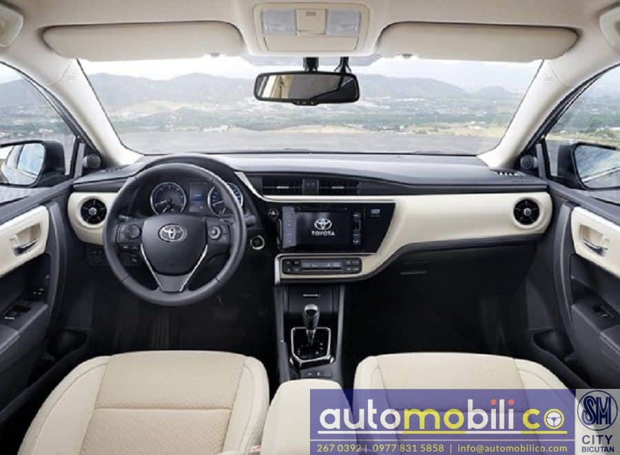 2018 Toyota Corolla Altis G - Left View