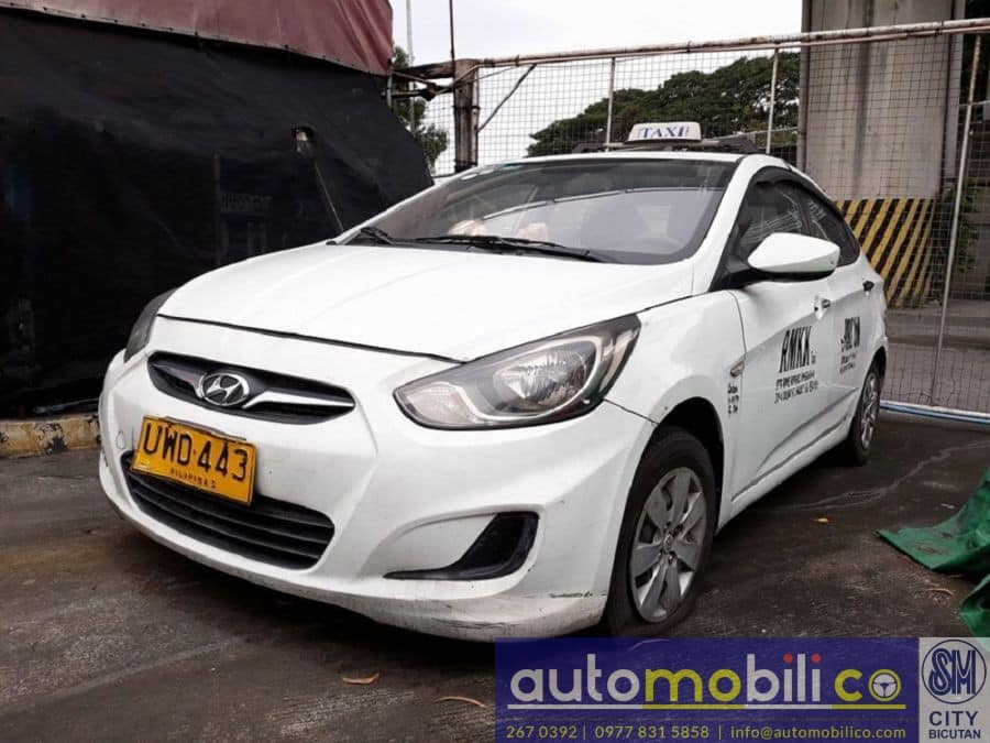 2012 Hyundai Accent - Left View
