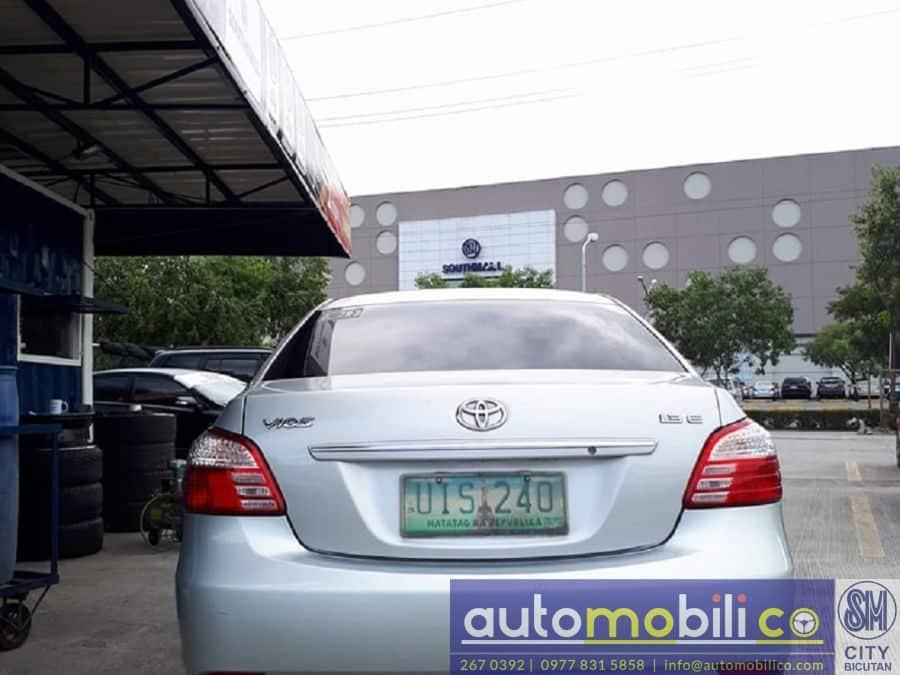 2012 Toyota Vios - Rear View