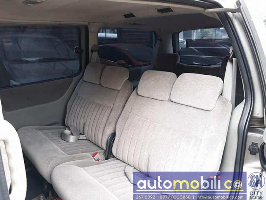 2002 Chevrolet Venture - Interior Rear View