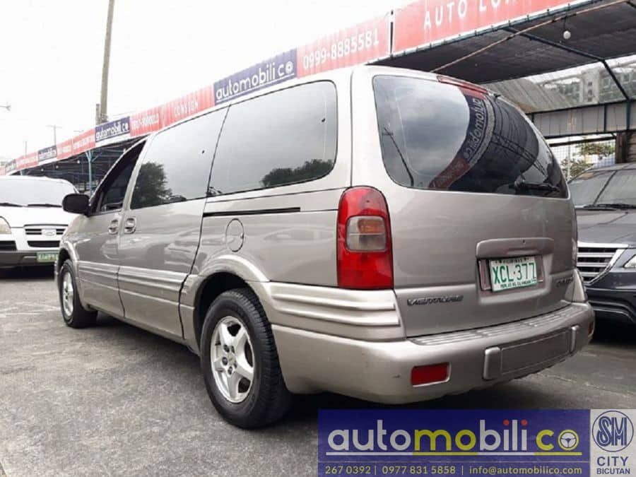 2002 Chevrolet Venture - Rear View