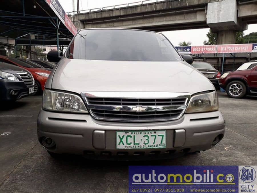 2002 Chevrolet Venture - Front View