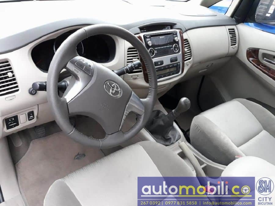 2015 Toyota Innova G - Interior Rear View