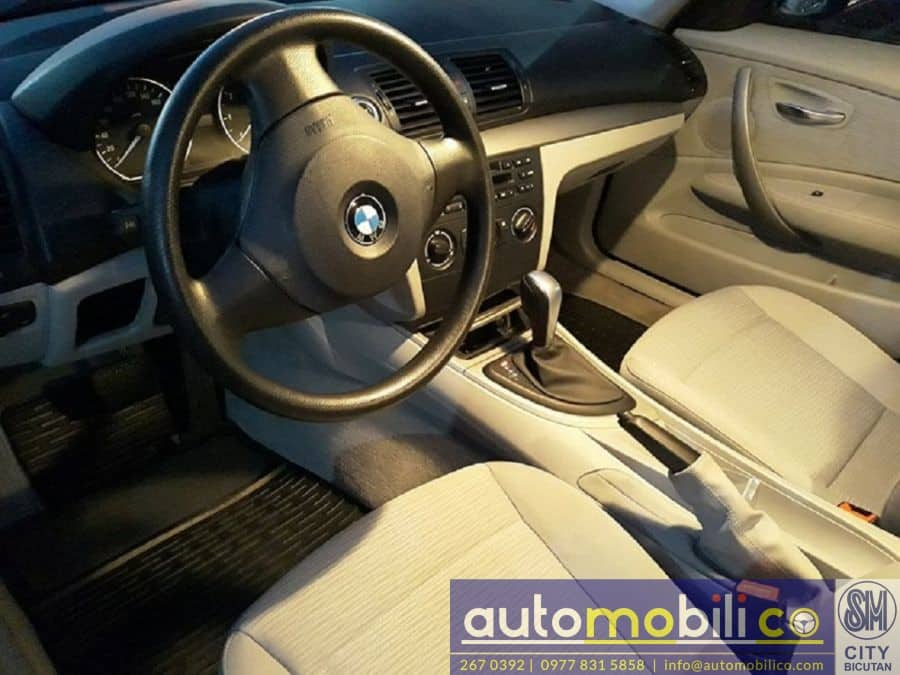 2010 BMW 116i - Interior Rear View
