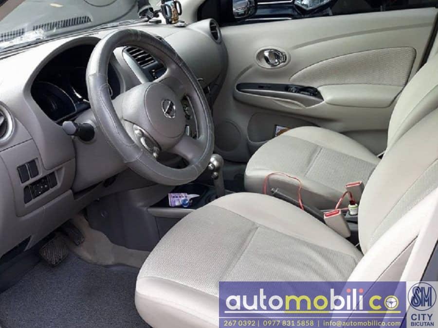 2013 Nissan Almera - Interior Rear View