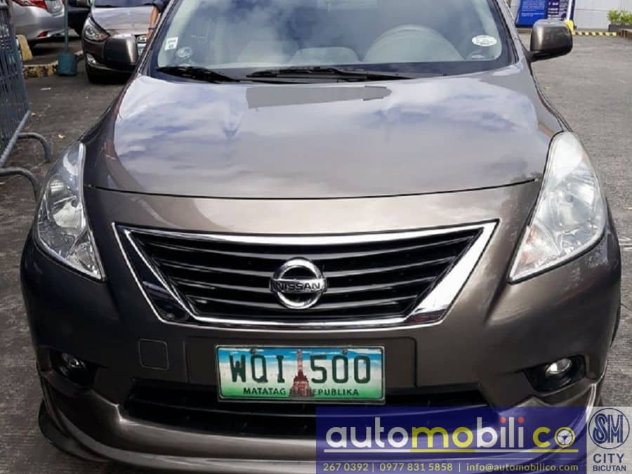 2013 Nissan Almera - Front View