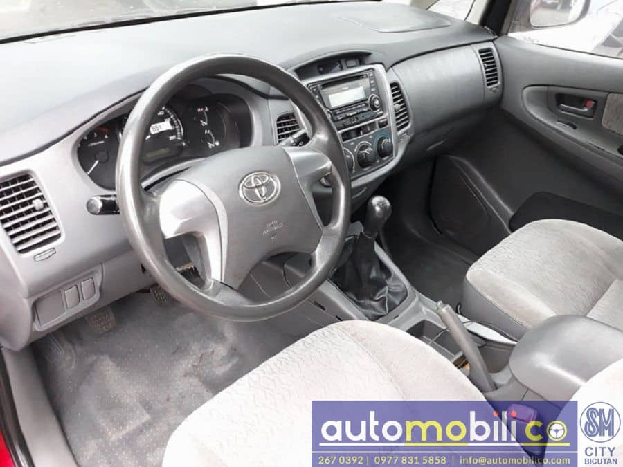 2015 Toyota Innova E - Interior Front View