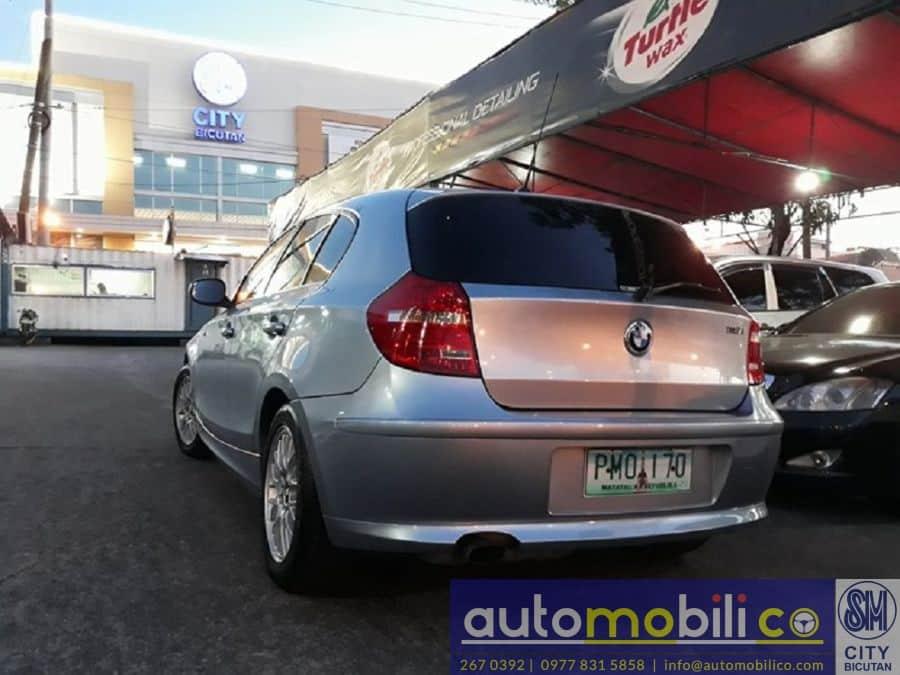 2010 BMW 116i - Rear View
