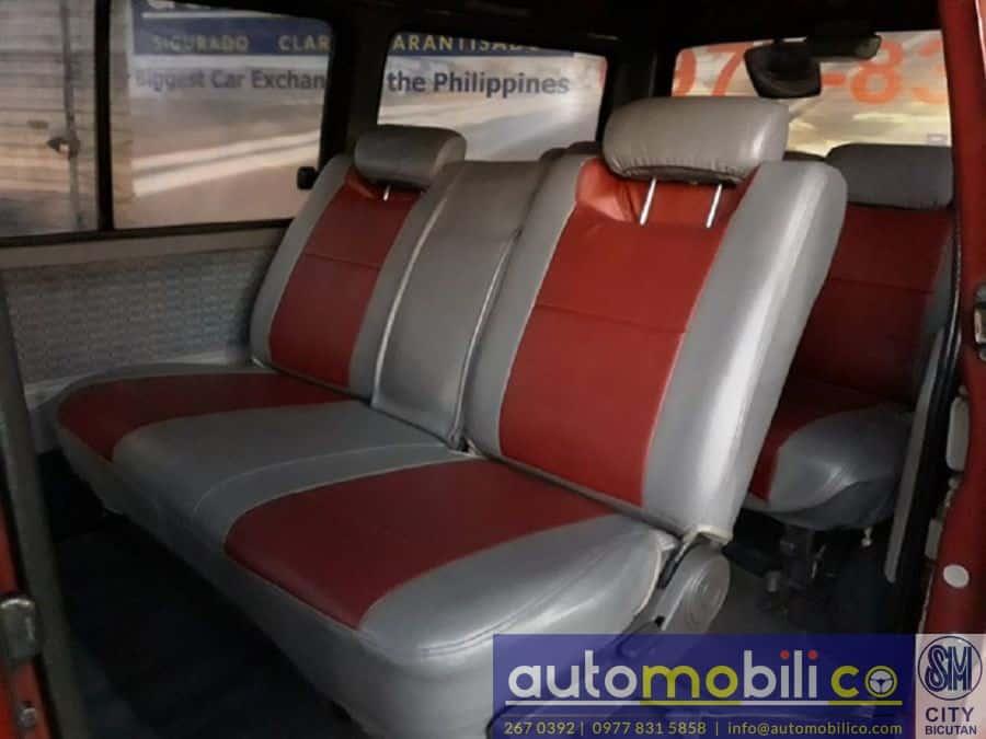 1998 Mazda E2000 - Interior Rear View