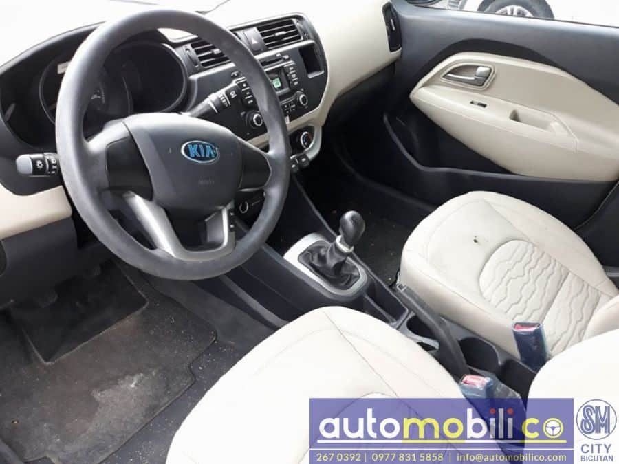 2014 Kia Rio - Interior Rear View