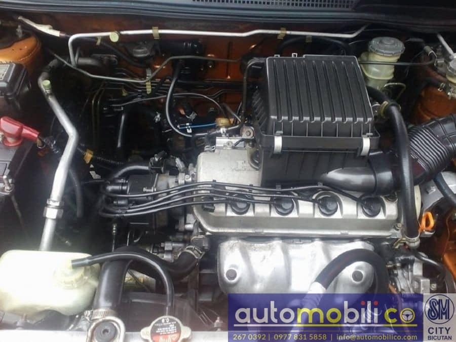 2001 Honda HR-V - Interior Rear View