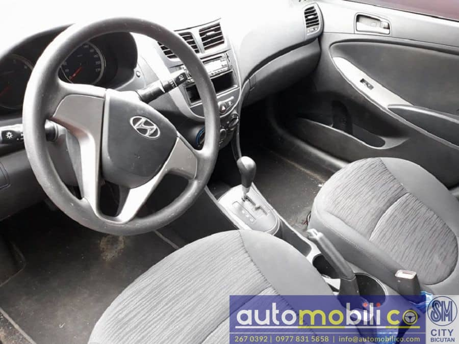 2016 Hyundai Accent - Interior Rear View
