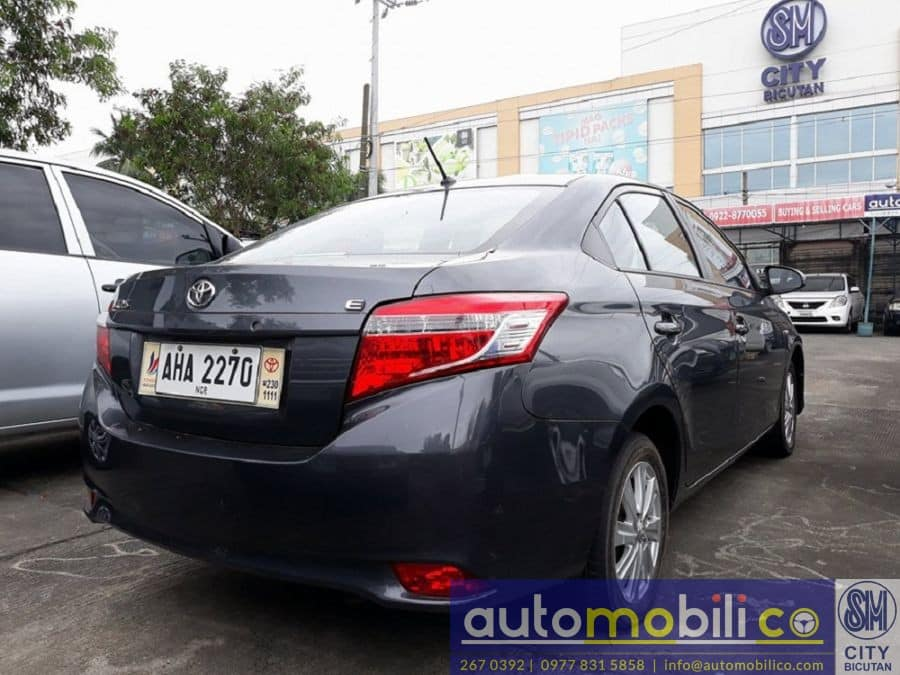 2015 Toyota Vios - Interior Rear View