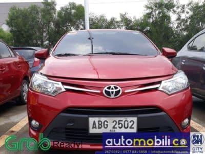2015 Toyota Vios E - Front View