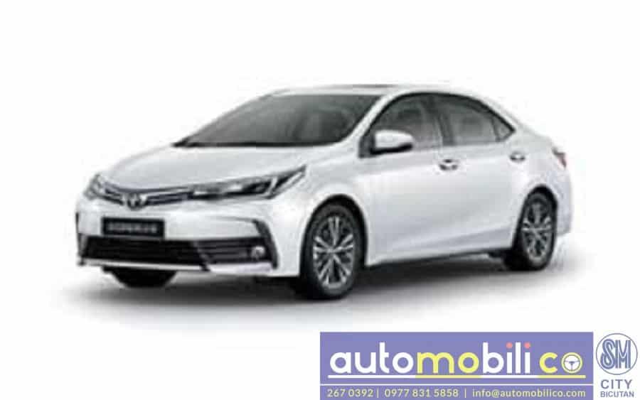 2018 Toyota Corolla Altis G - Interior Rear View