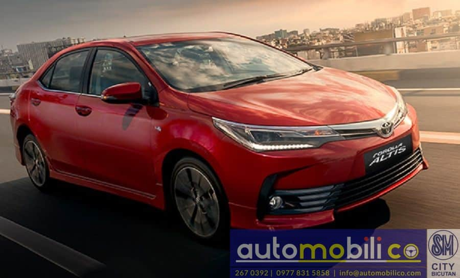 2018 Toyota Corolla Altis V - Front View