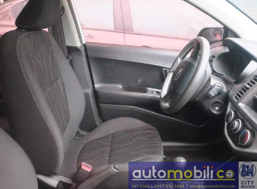 2014 Kia Picanto - Interior Rear View