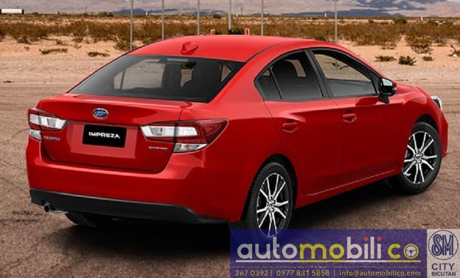 2018 Subaru Impreza - Rear View