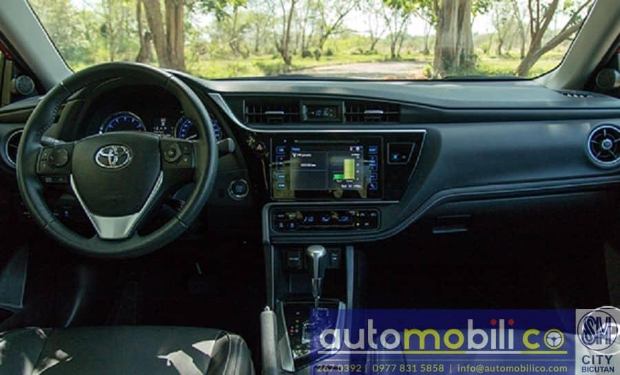 2018 Toyota Corolla Altis V - Interior Front View