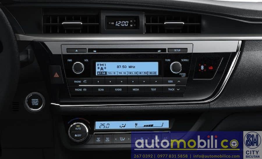 2018 Toyota Corolla Altis V - Interior Rear View