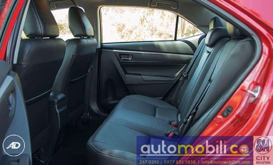 2018 Toyota Corolla Altis V - Left View