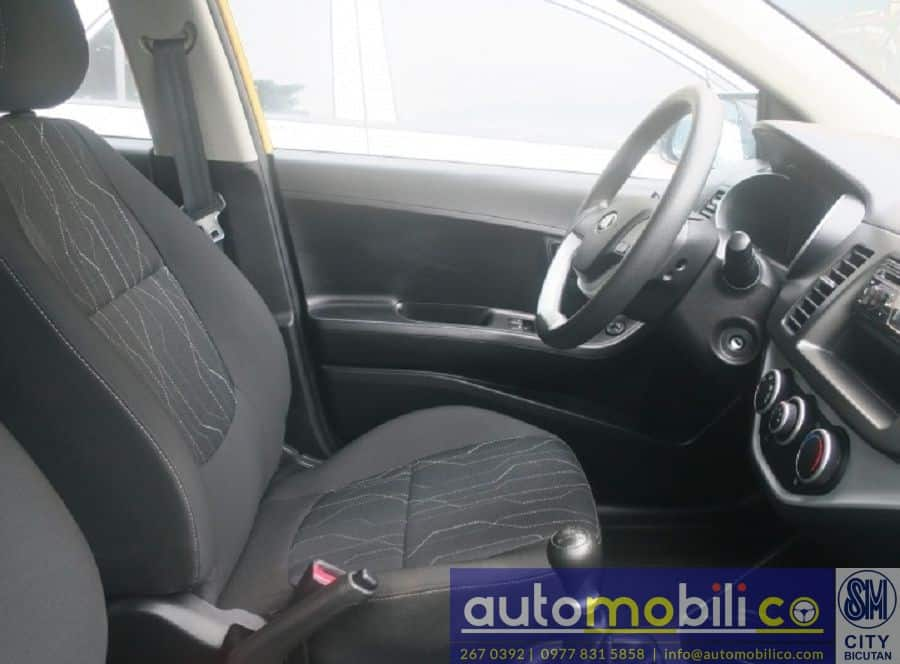 2016 Kia Picanto - Interior Rear View