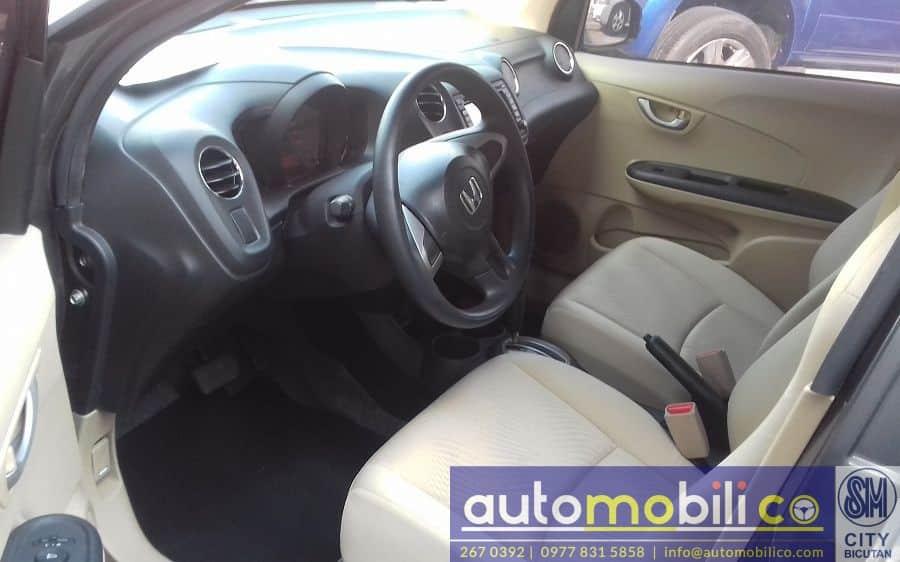 2015 Honda Brio Amaze - Interior Rear View
