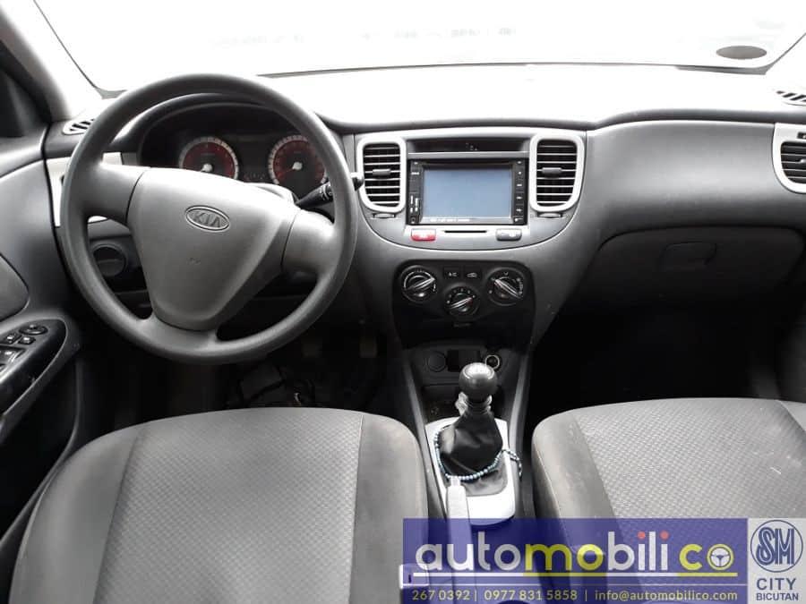 2011 Kia Rio - Interior Rear View