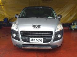 2014 Peugeot 3008 - Front View