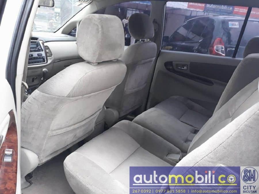 2014 Toyota Innova G - Interior Rear View