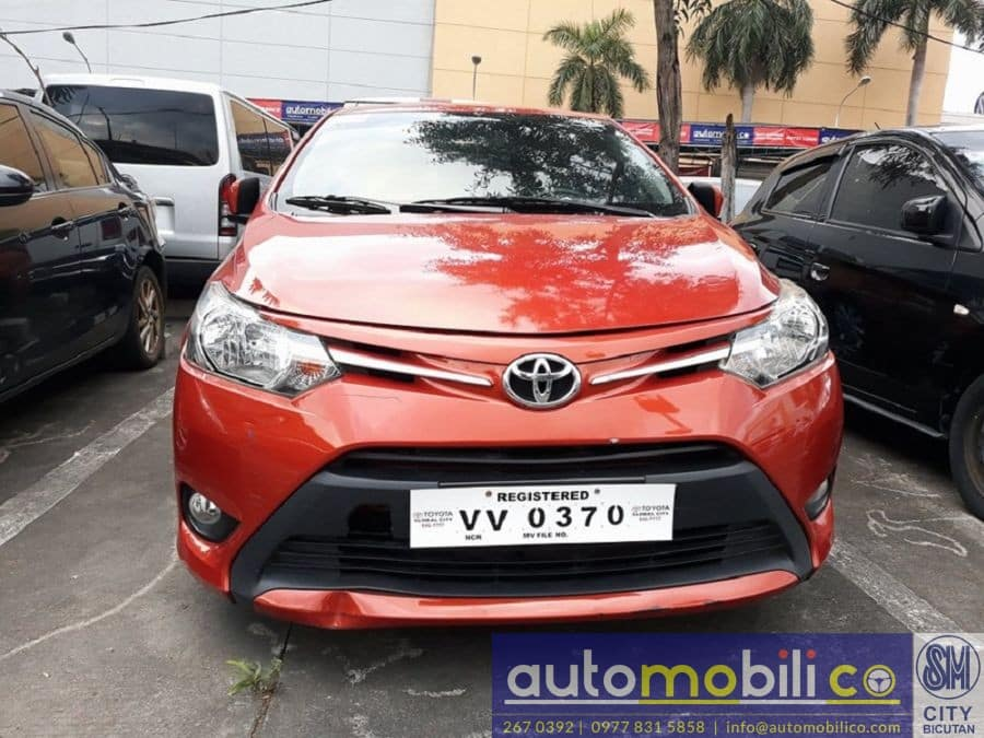 2017 Toyota Vios - Front View