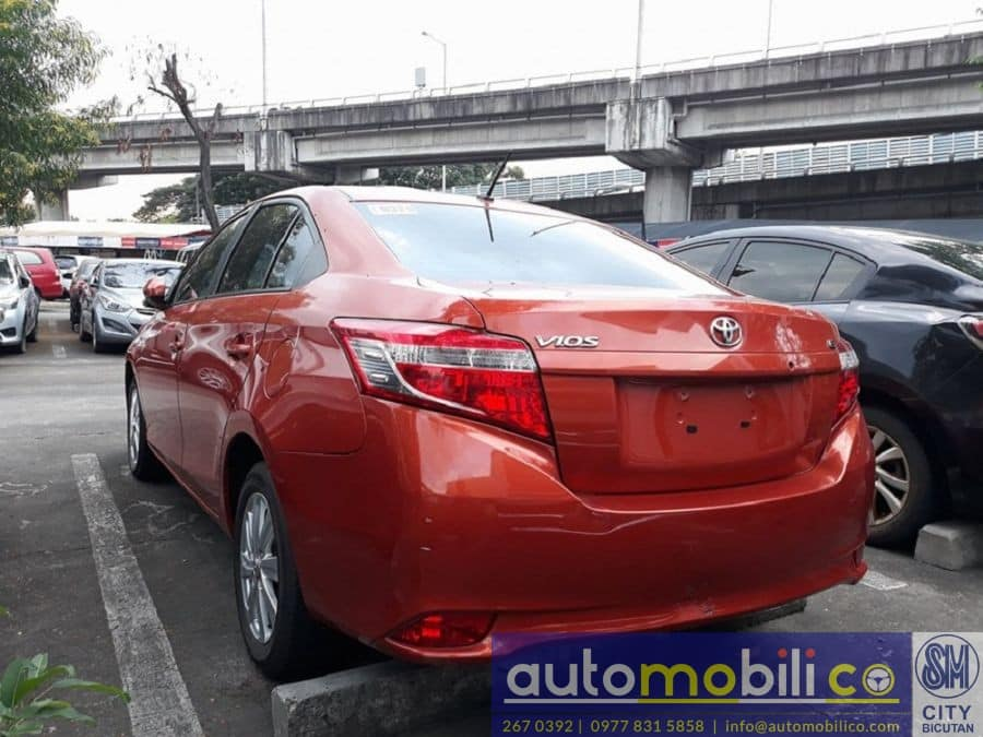 2017 Toyota Vios - Rear View