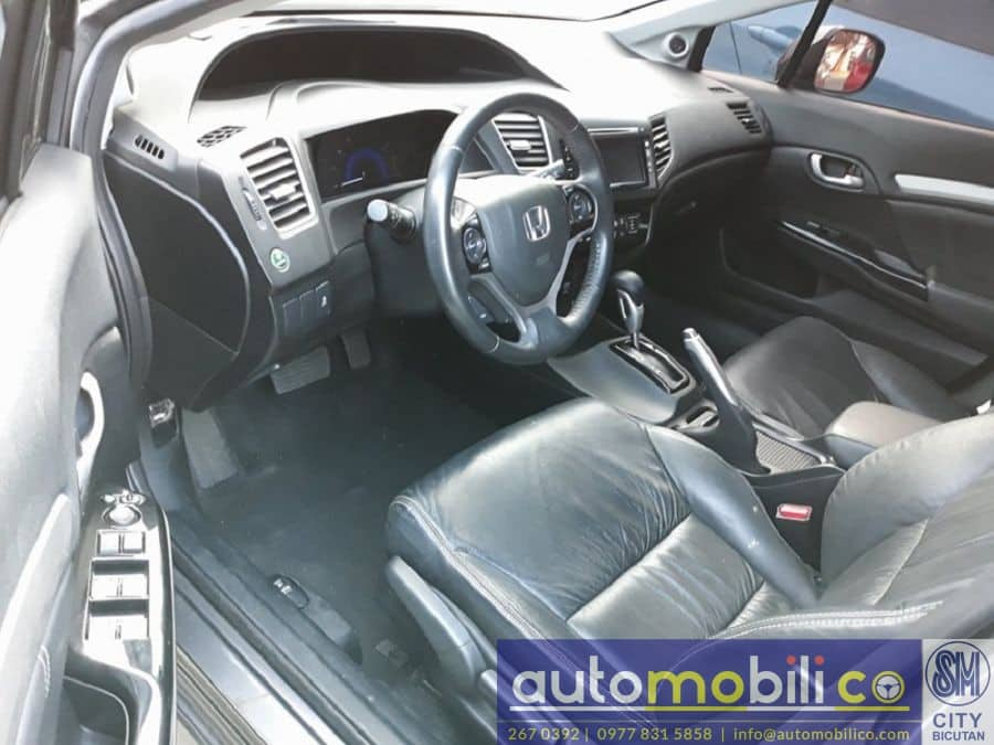 2014 Honda Civic - Interior Front View