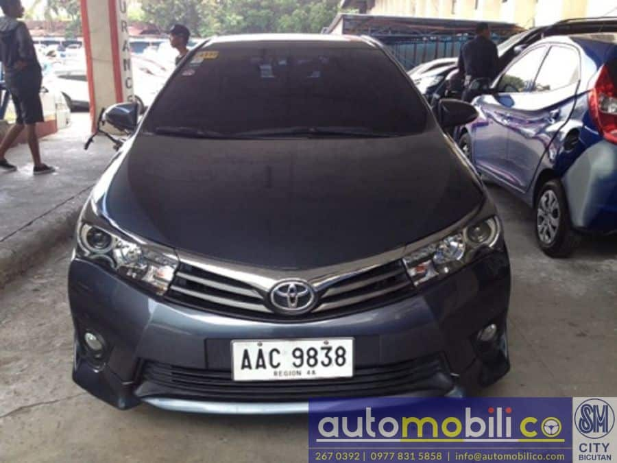 2014 Toyota Corolla Altis V - Front View