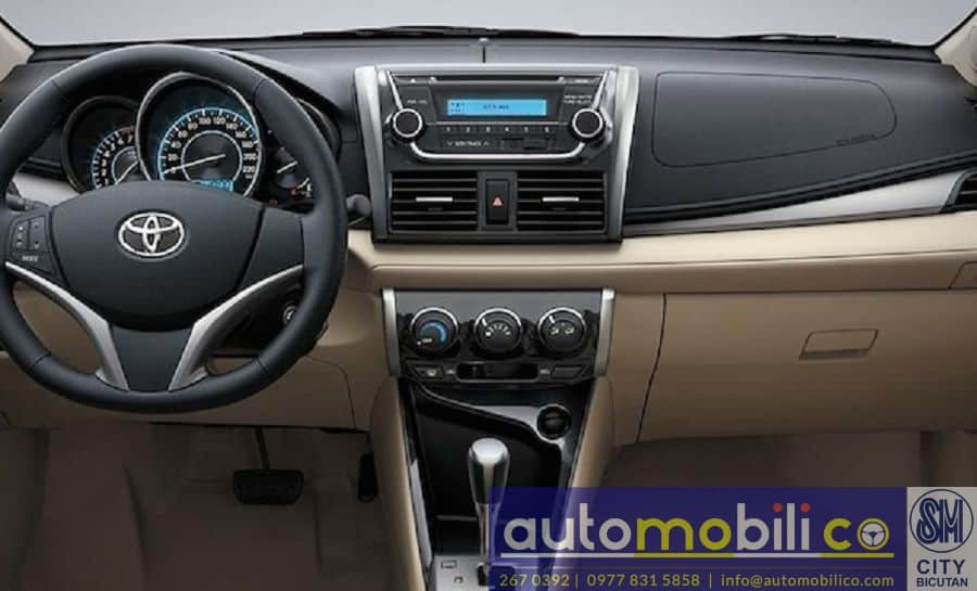 2018 Toyota Vios - Interior Front View