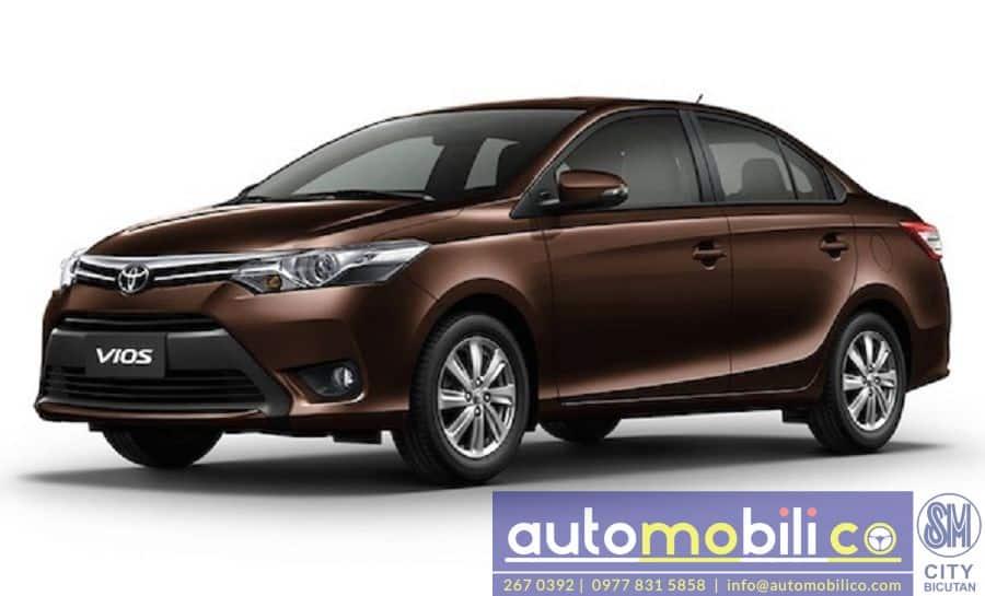 2018 Toyota Vios - Interior Rear View