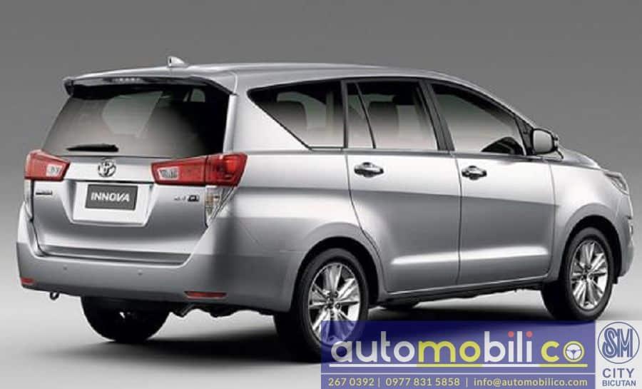 2018 Toyota Innova V - Interior Rear View